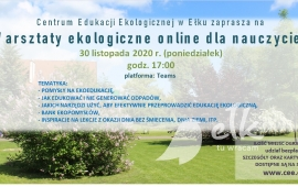 Eco-workshop online per insegnanti