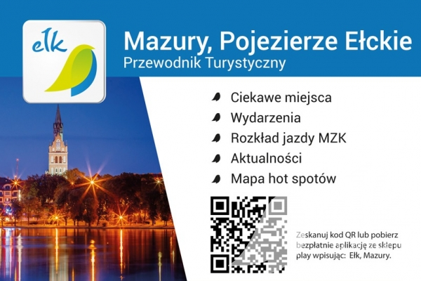 "Download the free mobile application ""Mazury, Ełckie Room"""