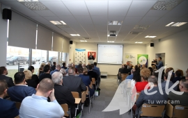 Ełccy entrepreneurs met at a science and Technology Park