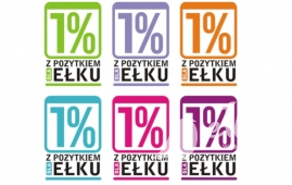 "Information campaign of the local government of Elk ""1% with benefit for Elk"""
