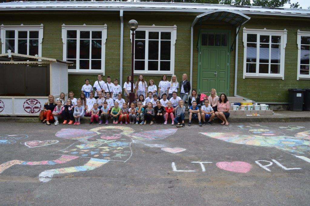 Wizyta Studyjna Dzieci Ze Szkoły Podstawowej Nr 2 W Ełku W Alytusie